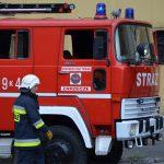 Ćwiczenia jednostek straży pożarnej w FTT Wolbrom S.A.