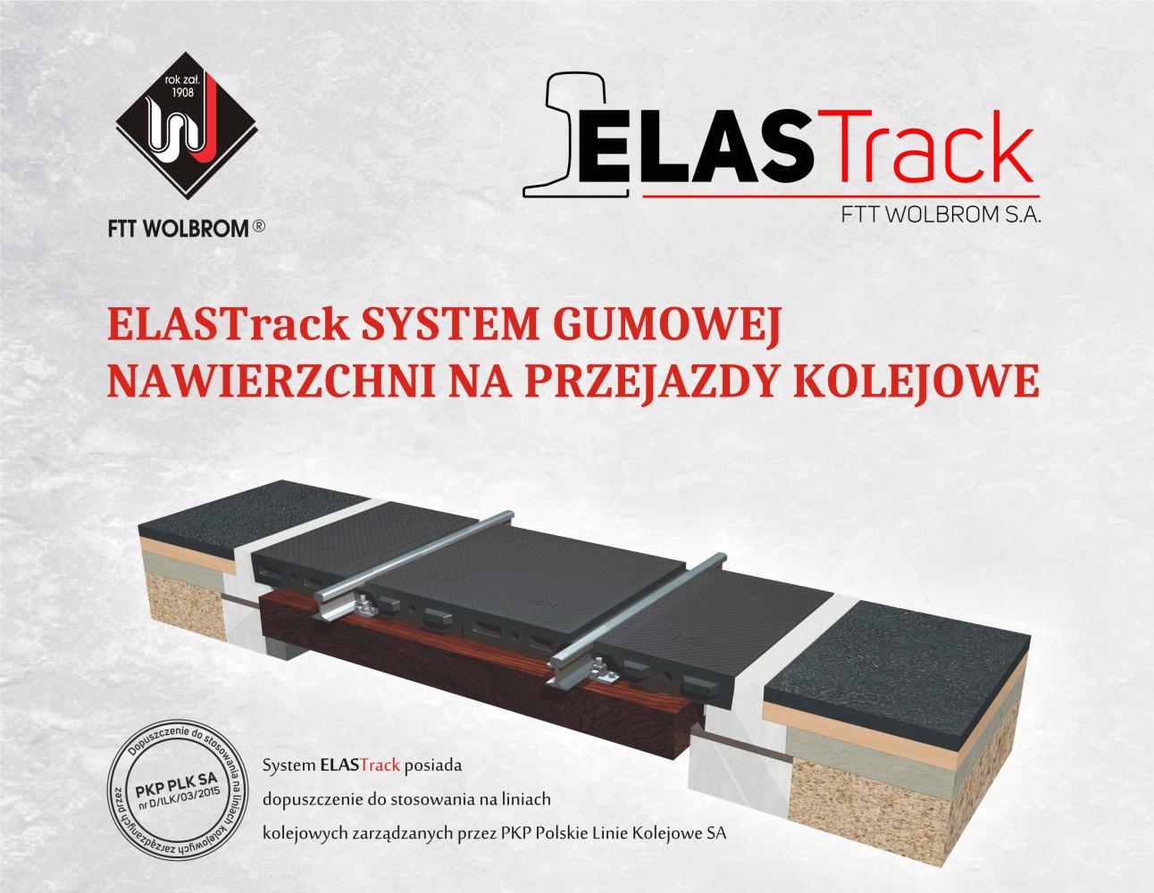 ELASTrack system gumowej nawierzchni na przejazdy kolejowe