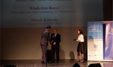 Krzyż Małopolski dla Przewodniczącego RN FTT Wolbrom – Władysława Banysia