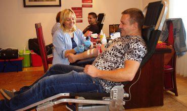 Akcja oddawania krwi w FTT Wolbrom