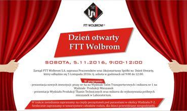 Dzień otwarty FTT Wolbrom
