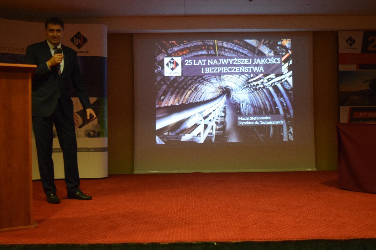 25 Międzynarodowe Sympozjum FTT Wolbrom S.A.