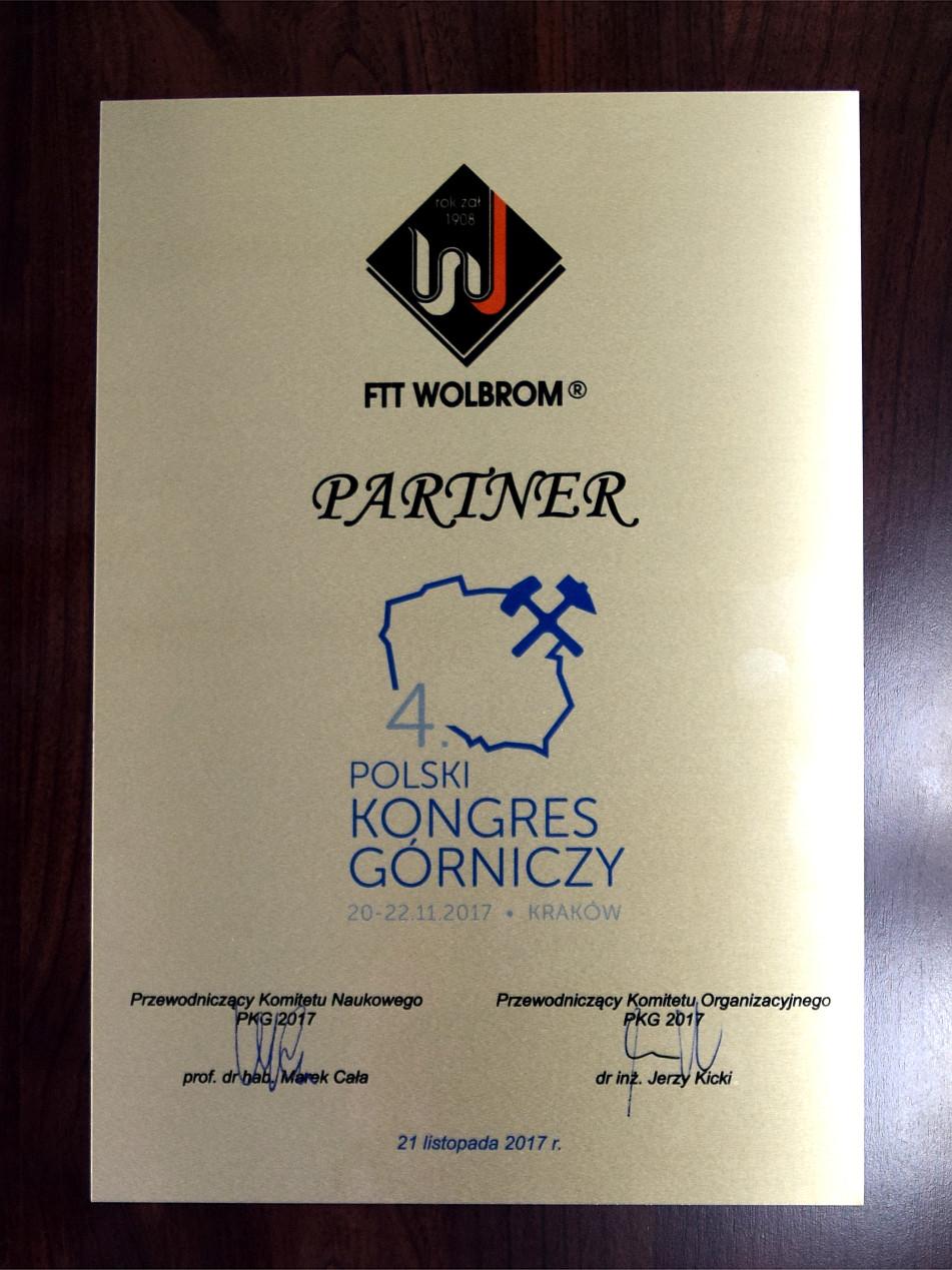 FTT Wolbrom S.A. na Polskim Kongresie Górniczym