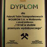 110 lat w służbie polskiego przemysły wydobywczego.